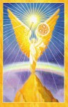 Archangel Oracle Cards back