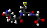 200px Glutathione from xtal 3D balls