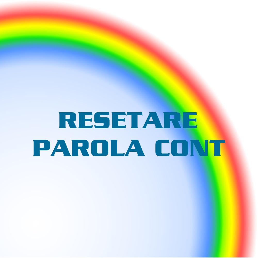 RESETARE PAROLA