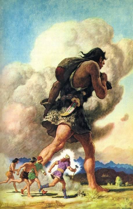 Gigantii Oamenii Didanum - strămoşii uriaşilor Nephilim şi Refaim